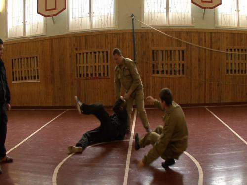 Тренировка в зале 2011 год